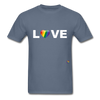 Love T-Shirt - denim
