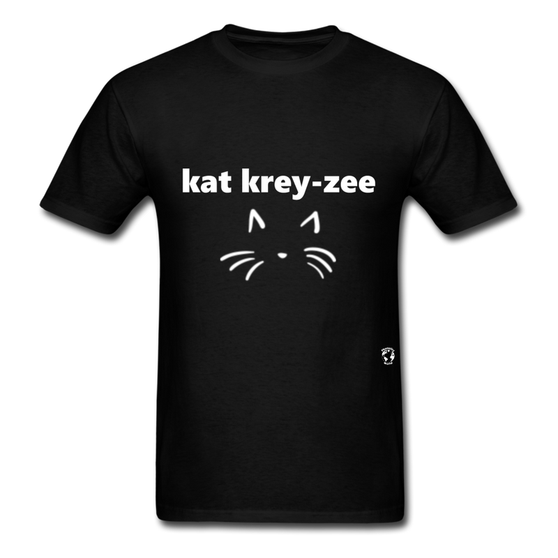 Cat Crazy T-Shirt - black