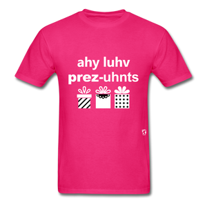 I Love Presents T-Shirt - fuchsia