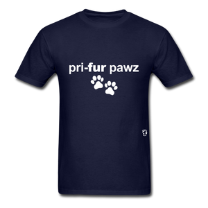 Prefer Paws T-Shirt - navy