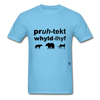 Protect Wildlife T-Shirt - aquatic blue