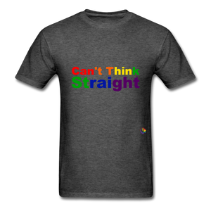 Can't Think Straight T-Shirt - heather black