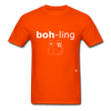 Bowling T-Shirt - orange