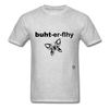 Butterfly T-shirt - heather gray