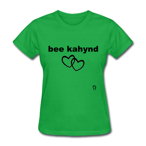 Be Kind T-Shirt - bright green