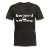 Be Gentle T-Shirt - mineral black