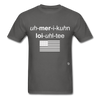 American Loyalty T-Shirt - charcoal