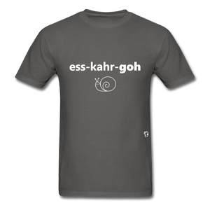 Escargot T-Shirt - charcoal