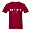 Bowling T-Shirt - dark red