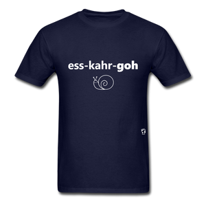 Escargot T-Shirt - navy