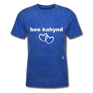 Be Kind T-Shirt - mineral royal