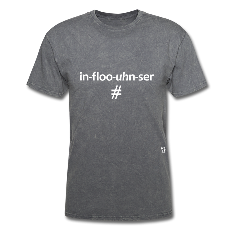 Influencer T-Shirt - heather black