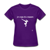Gymnastic's Mom T-Shirt - purple