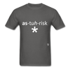 Asterisk T-Shirt - charcoal