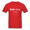 Bowling T-Shirt - red