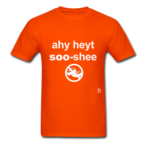 I Hate Sushi T-Shirt - orange