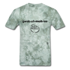 Guacamole T-Shirt - military green tie dye