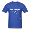 Be Kind T-Shirt - royal blue