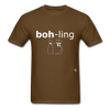 Bowling T-Shirt - brown