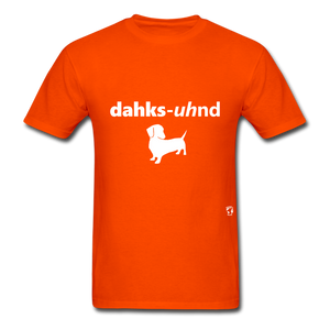 Dachshund T-Shirt - orange