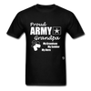 Army Grandpa T-Shirt - black