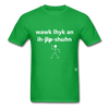 Walk Like an Egyptian T-Shirt - bright green