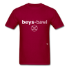 Baseball T-Shirt - dark red