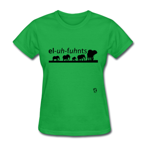 Elephants T-Shirt - bright green