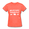 Protect Wildlife T-Shirt - heather coral
