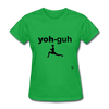 Yoga T-Shirt - bright green