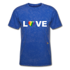 Love T-Shirt - mineral royal
