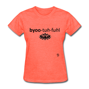 Beautiful T-Shirt - heather coral