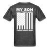 Proud Army Mom T-Shirt - heather black