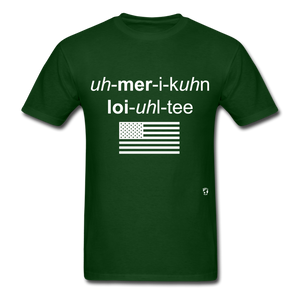 American Loyalty T-Shirt - forest green
