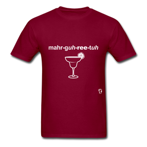 Margarita T-Shirt - burgundy