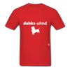 Dachshund T-Shirt - red