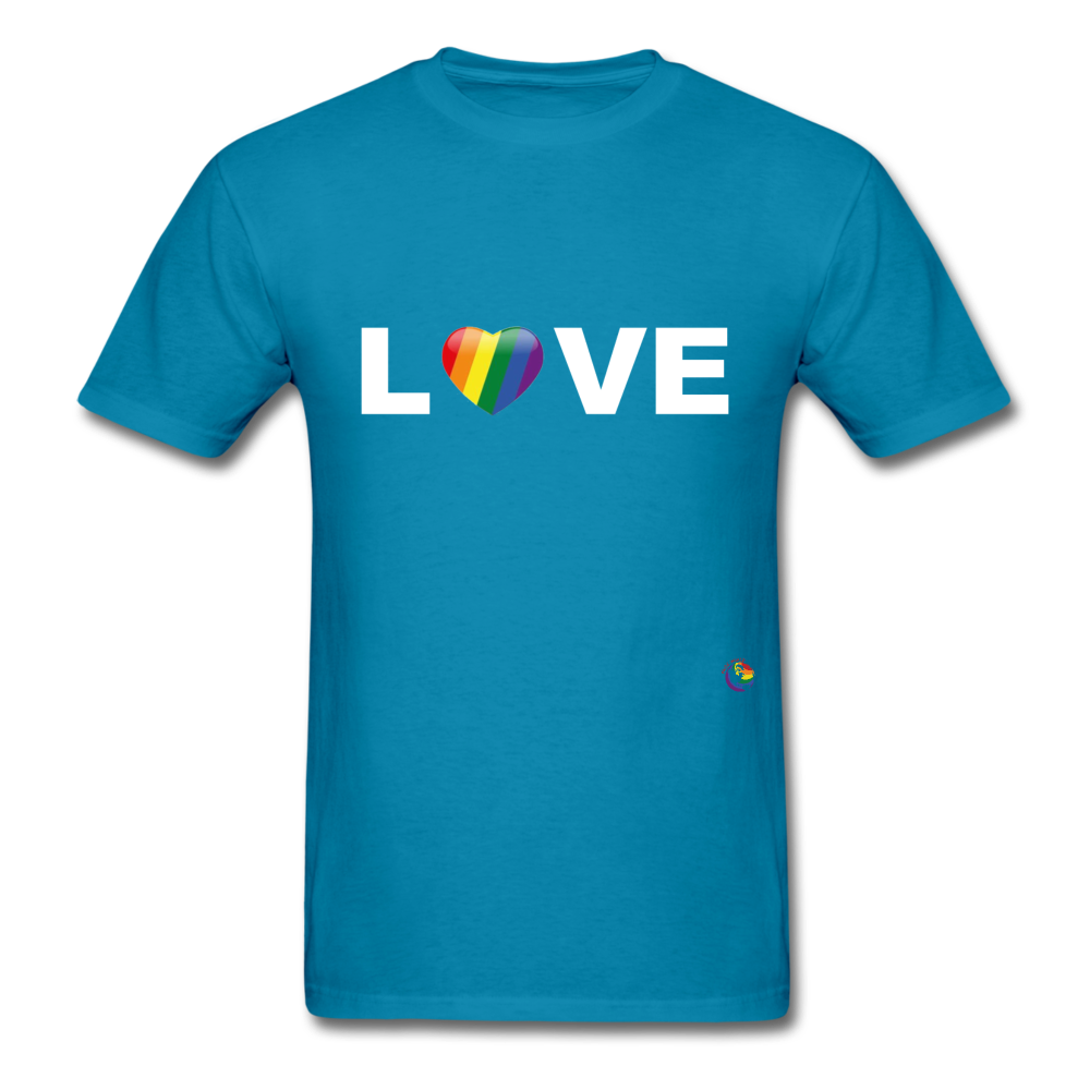 Love T-Shirt - turquoise