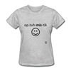 Optimistic T-Shirt - heather gray