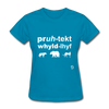 Protect Wildlife T-Shirt - turquoise