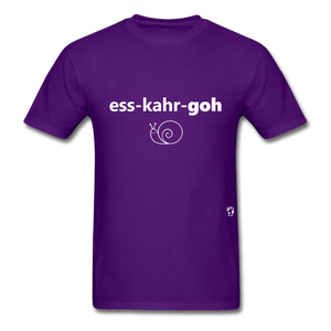 Escargot T-Shirt - purple