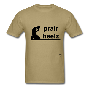 Prayer Heals T-Shirt - khaki