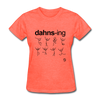 Dancing T-Shirt - heather coral