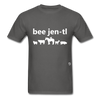 Be Gentle T-Shirt - charcoal