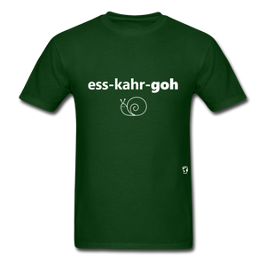 Escargot T-Shirt - forest green