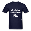 I Love Sushi T-Shirt - navy