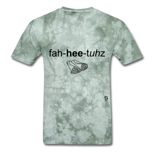 Fajitas T-Shirt - military green tie dye