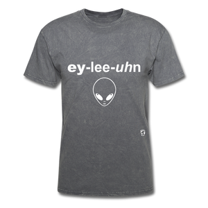 Alien T-Shirt - mineral charcoal gray