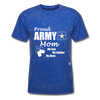 Proud Army Mom T-Shirt - mineral royal