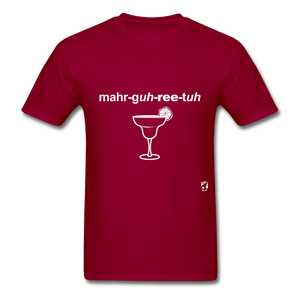 Margarita T-Shirt - dark red