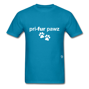 Prefer Paws T-Shirt - turquoise